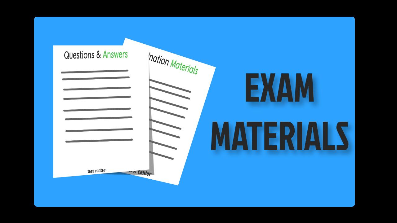 exam materials2